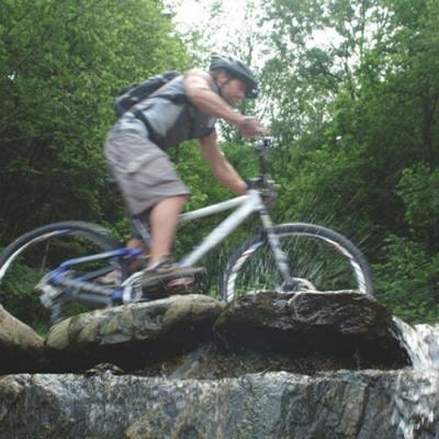 Radfahren und Mountainbiken