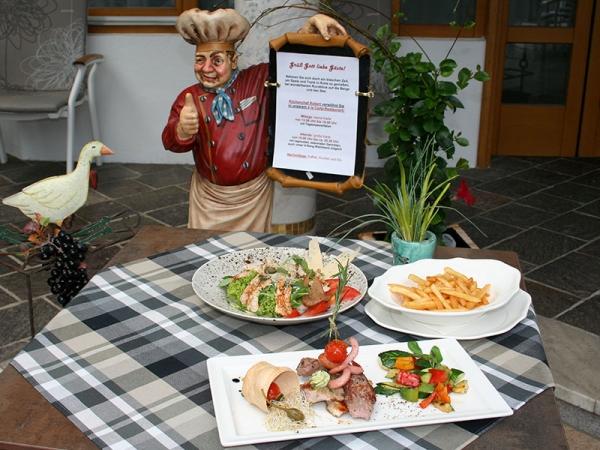 Kulinarische Auswahl im Alexanderhof