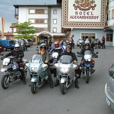 Motorradfahren im Motorradland Kärnten am Millstätter See